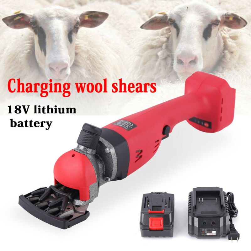 300W Electric Sheep Shearing Machine Clipper Shears Cutter Wool Scissors Tool