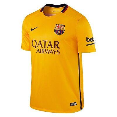 54f14ef4d Nike Barcelona Away Football Soccer Shirt Jersey 15 16 Size Medium 658785  740