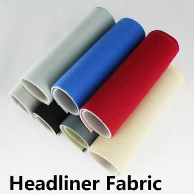 Sponge Headliner Replacement Foam Backing Fabric Interiors Trim Roof Liner DIY