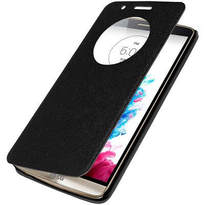 AMZER Flip Case with Quick Circle View - Black For LG G3 D855 segunda mano  Embacar hacia Argentina