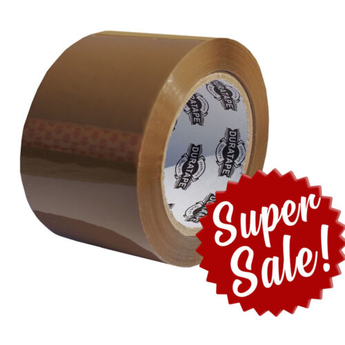 "24 Rolls Tan Carton Sealing TAPE 3"" 110Y (2.5mil) FAST"