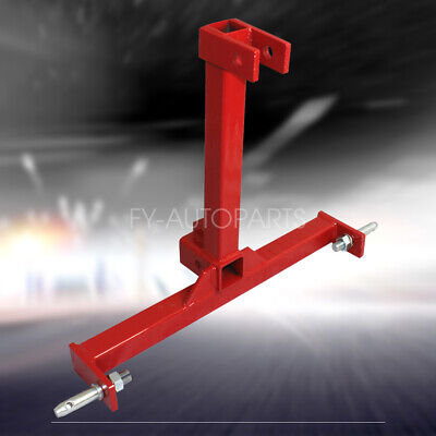"""RED D-RING 2-1//2/"""" SOLID SHANK SHACKLE 13,000 LBS CAPACITY Red RECEIVER HITCH H-D"""