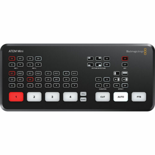 *OPEN BOX* Blackmagic Design ATEM Mini HDMI Live Stream Switcher