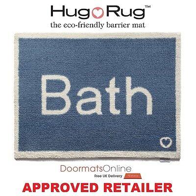 Hug Rug 85x65cm (BATH 11) Water Trapper Bath Room / Floor Mat Machine Washable  (Water Trapper Mat)