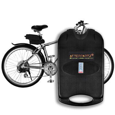 AFTERPARTZ 36V 10,4Ah Batería eléctrica de litio para bicicleta con cargador