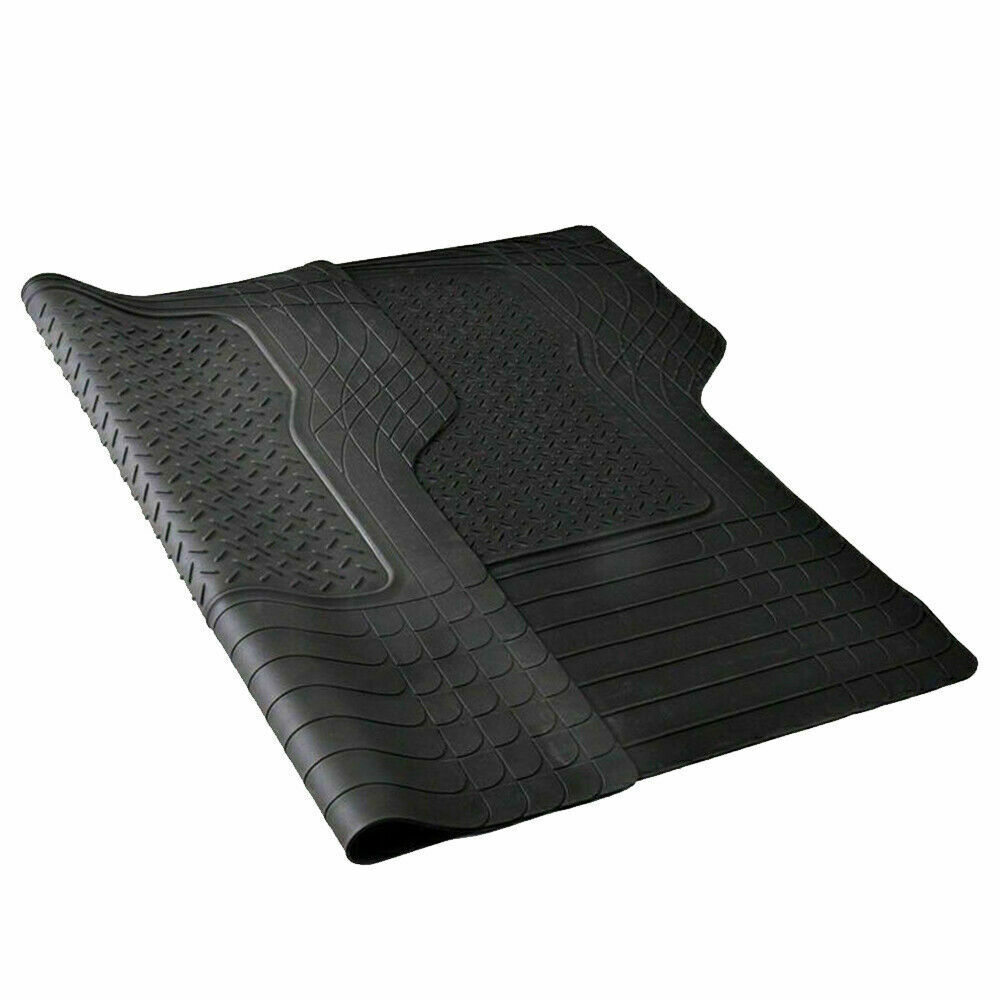 Car Parts - Universal Car Boot Mat Rubber Protector Non Slip Large Lightweight Cut to Size