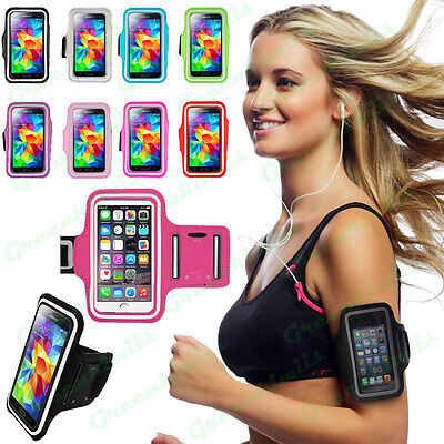 Best Sports Gym Cycling Running Jogging Armband Adjustable Arm Band Case