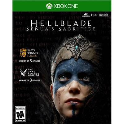 Hellblade: Senua's Sacrifice - Xbox One  Brand New Sealed With SlipCover NEW