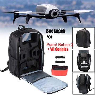 Carrying Bag Backpack Shoulder Case Fit For Parrot Bebop 2 Power FPV Drone US