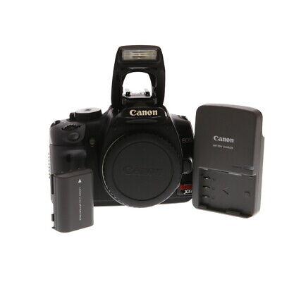 Canon EOS Rebel XTI Black Digital SLR Camera Body {10.1 M/P} EX