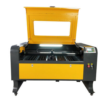 80w Efr 1080 Laser Engraver Cutter Ruida 6442s Controller Blade Work Table