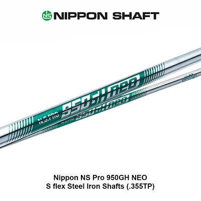 Nippon NS Pro 950GH NEO - S flex Steel Iron Shafts (.355TP)