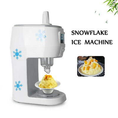 Commercial Ice Shaver Slushie Maker 70kgsh Snow Cone Machine For Restaurant Bar