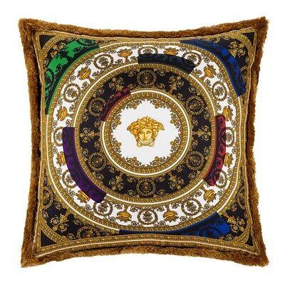 VERSACE HOME I Love Baroque Silk Cushion - 50x50cm - Multi