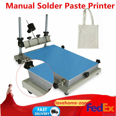 3024 Manual Solder Paste Stencil Printer Smt Pcb Printing Machine For Indurstry