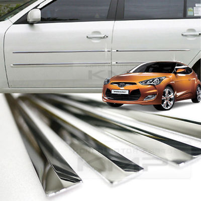 Chrome Exterior Molding Special Edition Kit 18p For 2011-2014 Hyundai Veloster