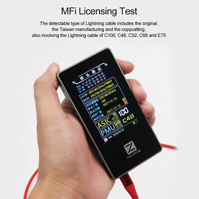 Chargerlab Power-z Mfi Data Cable Tester Mf001 Voltage Current Transformer Test