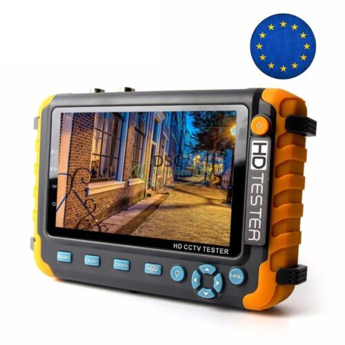 5inch HD CCTV Tester Monitor Support 8MP TVI/AHD 8MP CVI Camera, HDMI/VGA input