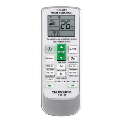 CHUNGHOP Universal LCD Screen A/C Remote Control Air Conditioner Controller K5W3