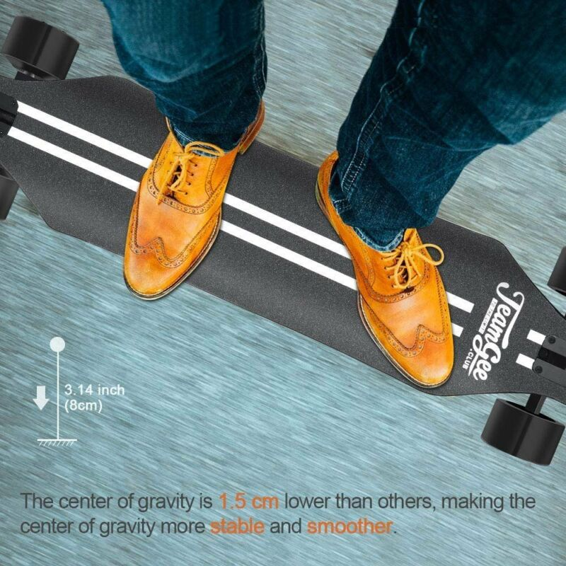 h5 electric skateboard longboard w drop through