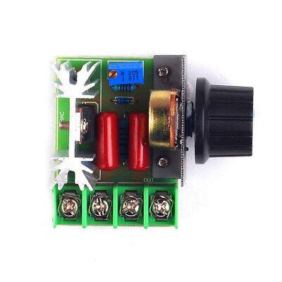 Adjustable 2000w Ac Motor Speed Controller 50-220v Electronic Regulator Hf0