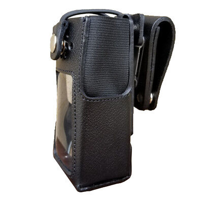 Case Guys Mr8555-3bw Hard Leather Holster For Motorola Xpr 7550 Xpr 7580e Radios