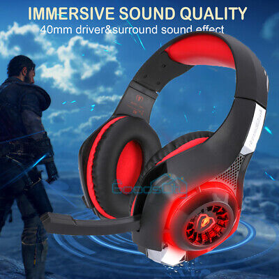 Best Gaming Headset Gamers Headphones for XBOX One Wireless PS4 With