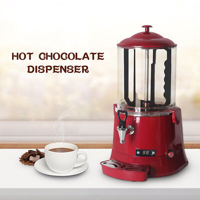 Commercial 10l Hot Chocolate Dispenser Cocoa Chocolate Tempering Machine