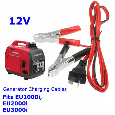 Suitcase Generator 12v Charging Lead Cable For Honda Generator Eu1000i Eu3000i