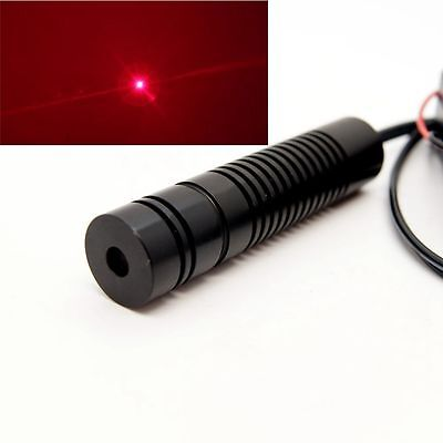 Red Burner Laser650nm 250mw Focusable Red Laser Dot Modulewith Battery Case
