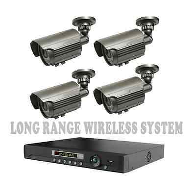 Long Range Wireless Video Transmission Up To 1700ft NightVision Camera CCTV  DVR
