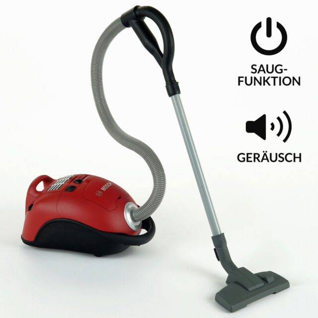 Kinder Staubsauger (rot) Kinderstaubsauger Sauger - Bosch mini Theo Klein 6828