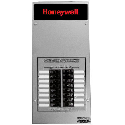 Honeywelltrade 100-amp Indoor Automatic Transfer Switch W 16-circuit Load ...