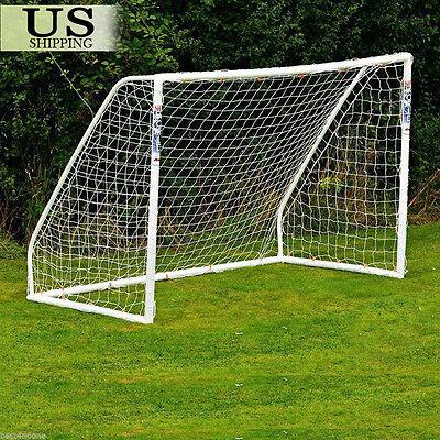 (PE 6 x 4ft Football Soccer Goal Post Net Kids Outdoor Football Match Training)