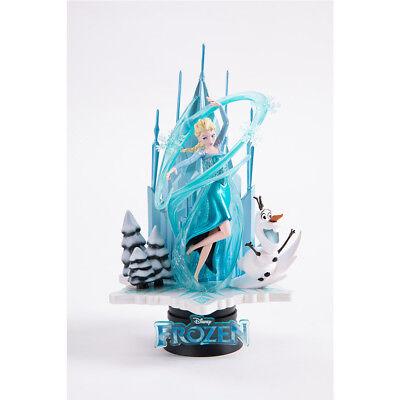 "Beast Kingdom D-SELECT DS-005SP forzen DISNEY Elsa /& Olaf 6/"" Statue Exclusive"