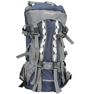 New 80L Backpack Rucksack Shoulders Bag Waterproof Outdoor Sports Camping Hiking