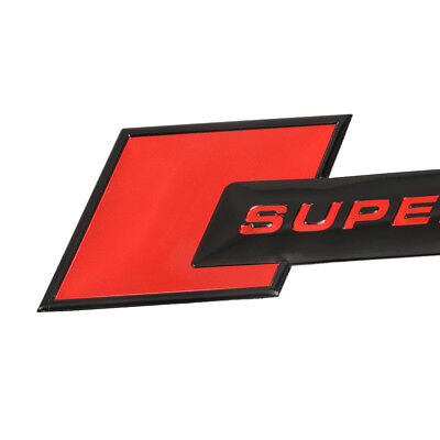 p2rzw, Aluminium Motorsport SUPERCHARGED Auto Decal Embleem Badge Sticker