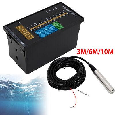 Submersible Water Level Transmitter Sensor 3610m Digital Display Controller