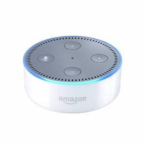 NEW !! Amazon Alexa (Aussie Stock) FREE ADAPTOR Echo Dot 2nd Gen Box Hill South Whitehorse Area Preview