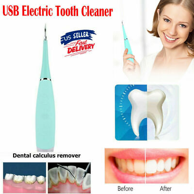 Dental Sonic Ultrasonic Scaler Handpiece Tooth Cleaning Whitening Scaling Usb