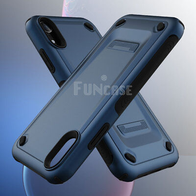 Rugged Silicone - For iPhone XR XS MAX X Rugged Silicone Rubber Shockproof Armor Case Cover