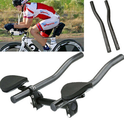 Road Mountain Bike Bicycle Alloy Triathlon Aero For Rest Handle Bar 31.8mm Newly