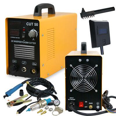 Cut-50 50 Amp Air Plasma Cutter Cutting Machine 110230v Dual Voltage New