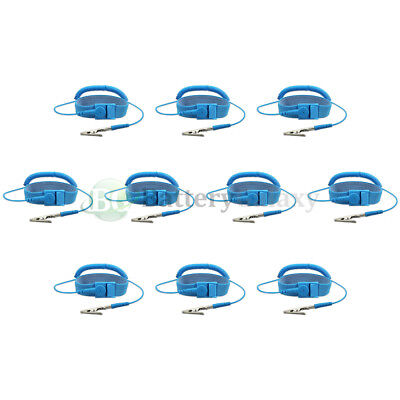 10 New Anti-static Esd Adjustable Strap Antistatic Grounding Bracelet Wrist Band