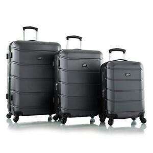 "Leo by Heys - HX9 Hard Side Spinner Luggage 3pc Set - 30"", 26"" & 21"""
