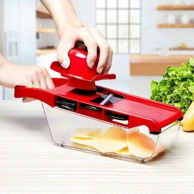7 in 1 Manual Vegetable Slicer Potato Cutter Stainless Steel