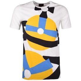 VIVIENNE WESTWOOD Vivienne Westwood Anglomania White Orb Longline T-Shirt - Mens
