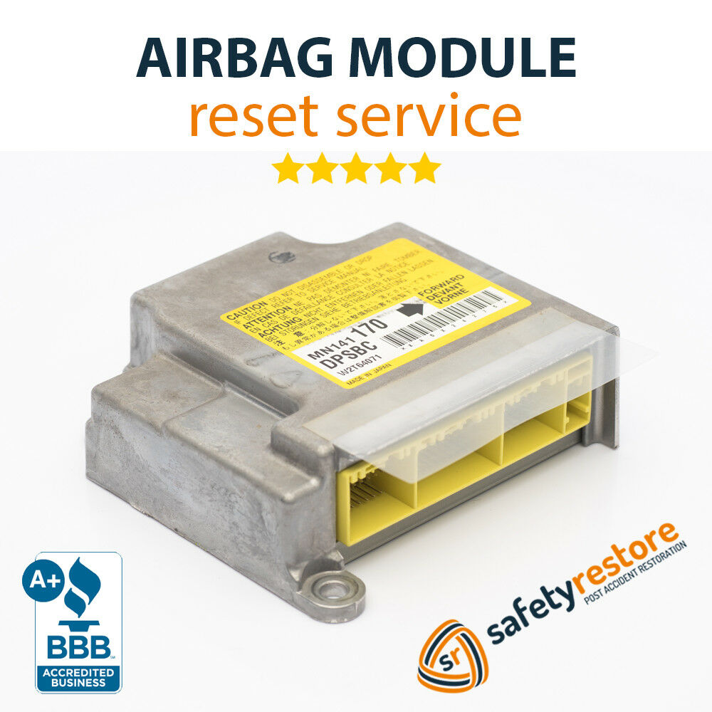 SUBARU SRS Airbag Module Reset RCM SDM ACM Clear Crash Data Codes After  Accident