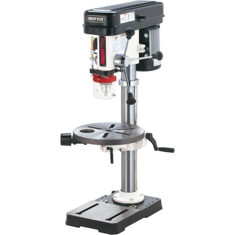 """Shop Fox W1668 13-1/4"""" Oscillating Drill Press"""