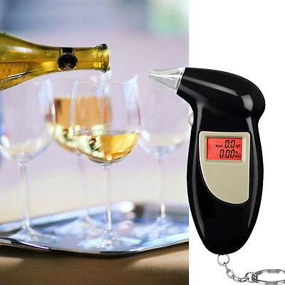 Pro Digital Alcohol Breath Tester Analyzer Breathalyzer Detector Test Testing UL
